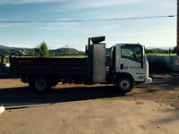 GMC 5500 HD work truck/dump box
