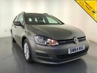 2015 VOLKSWAGEN GOLF BLUEMOTION TDI DIESEL ESTATE 1 OWNER VW SERVCE HISTORY