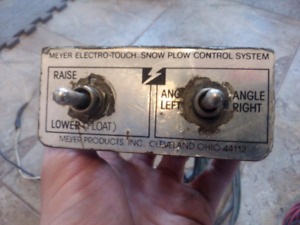 Meyer Electro Touch snow plow Control System