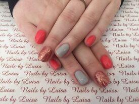 CND shellac & acrylic nail extensions