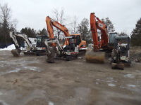 Excavating and septic systems