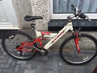 Raleigh 18 speed mountain bike only £30 ride away