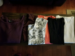 Womens name brand clothing lot