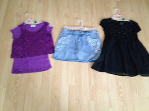 Girls size 18 top bottom lot O