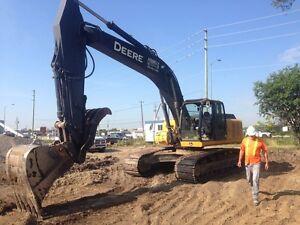 2011 john deere 270 dlc excavator