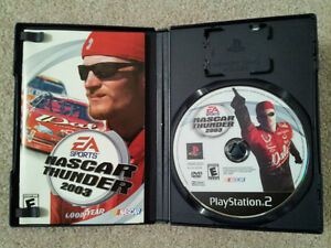 Nascar Thunder 2003 / PS2 / MINT DISC London Ontario image 2