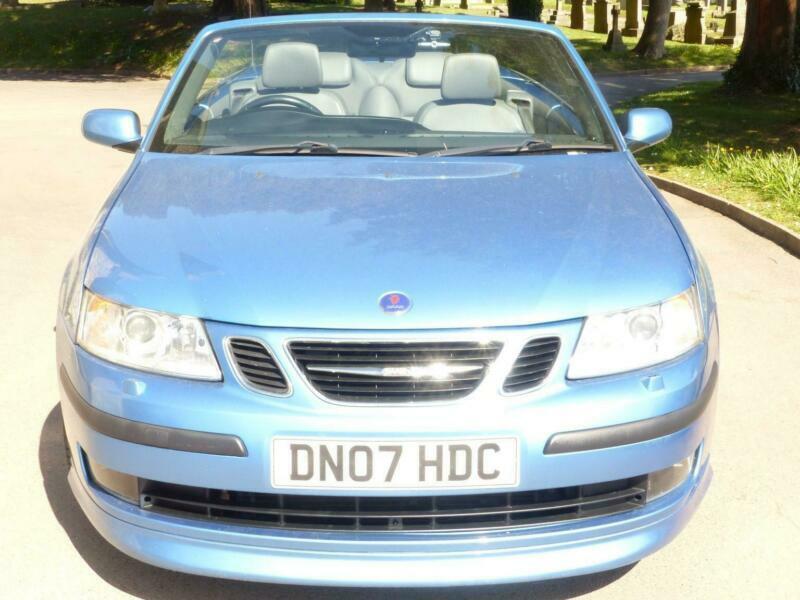 2007 Saab 9-3 AERO T 2-Door Auto Convertible Petrol Automatic