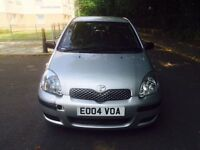 Toyota Yaris 2004 1.3 Manual 5 Door Hatchback