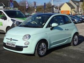 2014 Fiat 500 1.2 Lounge 3dr (start/stop)