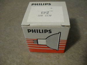 Philips Projection Bulb-EPZ/50W/13.8 V  $5 each  new in box