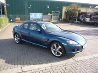 MAZDA RX8 EVOLVE..** £19 Per Week..£O Deposit ** 2006 Petrol Manual in Blue