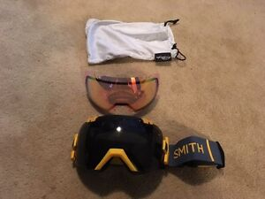 Smith Snowboard Goggles worn once