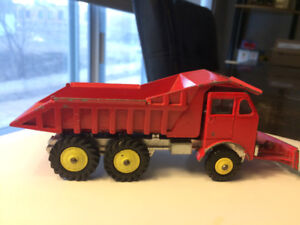 Dinky toys supertoys #959 Foden dump truck with bulldozer blade