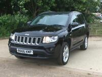 Jeep Compass 2.2CRD (161bhp)(4WD) 2012 Limited Manual. Black and Beautiful!