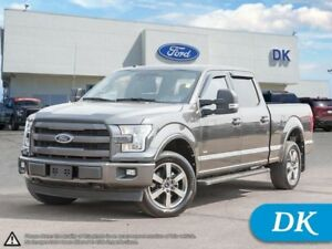 2017 Ford F-150 Lariat 502A Sport, 3.5L Ecoboost w/Leather, Moon