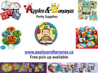 HUGE BIRTHDAY PARTY SUPPLY SALE