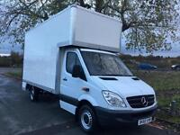 Mercedes Sprinter 313 CDI 130ps LWB Dropwell Luton 14ft 5ins Ideal Removals