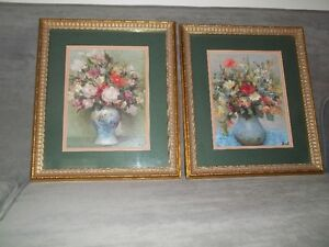 Pair of Bombay Co. floral prints
