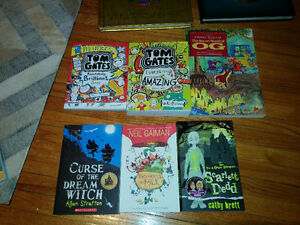 6 Chapter books (ages 8-12) London Ontario image 1