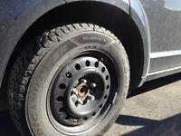 Goodyear Nordic Winter Tire Set + Rims