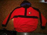 Man's Tommy Hilfiger Red and Black Jacket
