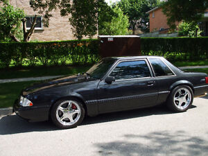 1987 Ford Mustang LX Notchback Coupe (2 door)