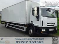 2012 61 IVECO EUROCARGO 140E22S 30FT BOX WITH TAIL LIFT