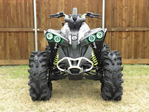 SNORKEL YOUR ATV snorkel kit Can Am Renegade ATV TIRE RACK