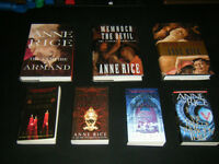 Lot of 7 Anne Rice Books and 5 James Patterson Books!