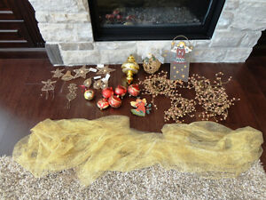 17 Pc. Christmas Decoration Assortment - All for $10.00
