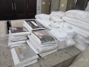 FOR SALE NEW TOWELS,  QUEEN FITTED SHEETS,PILLOWS CASES.DRESSER
