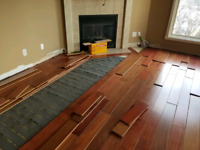FREE ESTIMATE!! FLOORING INSTALLATION