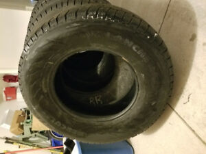 265/70/r17 Winter Tires- Hercules-New