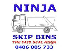 Ninja Skip Bin Hire - The BEST PRICE! Skip Bins for hire. Lidcombe Auburn Area Preview