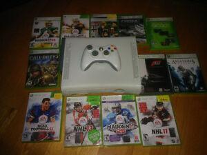 Xbox 360 - 1 manette - Disque dur 20 GB - 12 jeux