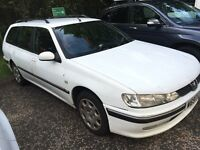 PEUGEOT 406 HDI DIESEL ESTATE LONG MOT BARGAIN