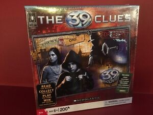 """Scholastic BePuzzled """"The 39 Clues"""" 200-pc Puzzle - Brand new!"""