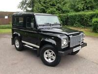 2009 (59) Land Rover Defender 90 XS County Station Wagon 2.4 Santorini Black