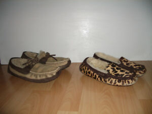 """ UGG"" -- maison home shoes / mouton -- size 8-9-10 US f"