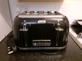 Black and silver breville
