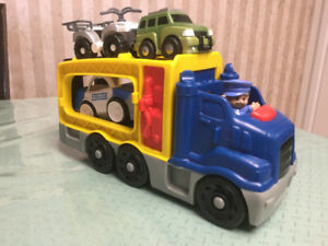 Fisher a Price Car Carrier