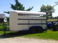 $2500 QUICK SALE Livestock type horse trailer