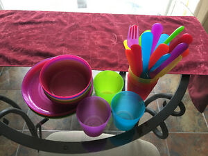 IKEA dishes and cutlery set for kids