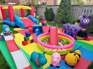 Kids Party Entertainment Playzone Add Bouncy Castle for $45