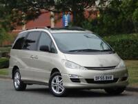 7 SEATER Toyota Previa 2.4 VVTi Auto T Spirit +1 OWNER +11 TOYOTA SERVICE STAMP