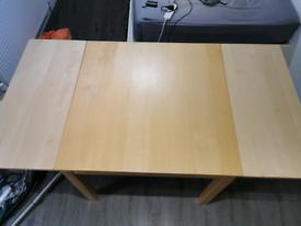 Extendable desk