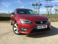 SEAT LEON 1.4 TSI ACT ( 150ps ) ( s/s ) SportCoupe FR Tech Pack RED 2015