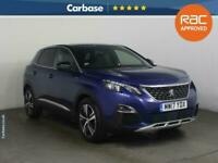 2017 Peugeot 3008 1.2 Puretech GT Line 5dr EAT6 - SUV 5 Seats SUV Petrol Manual