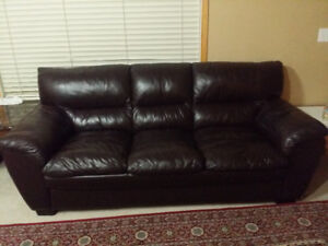 Genuine Leather Couch Set, 3+2 seat