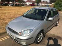 2004 Ford Focus 1.6i 16v 2004 ZETEC IMMACULATE LONG MOT CHEAP TAX WARRANTY